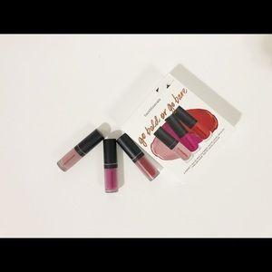 🌸New🌸Bareminerals Mini matte liquid lipcolor set